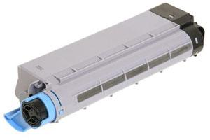 Okidata 43324468 Cyan Toner Cartridge for C6000N C6000DN C6050N C6050DN Printer