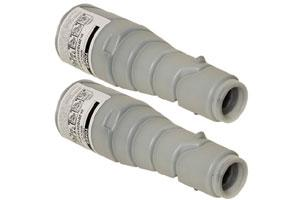Konica Minolta 8937-753 205A Compatible Toner Bottle (2 PACK) for DI2010 DI2510