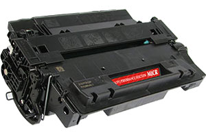 HP CE255X / 55X MICR Laser Toner Cartridge for LaserJet P3010 P3015 P3016