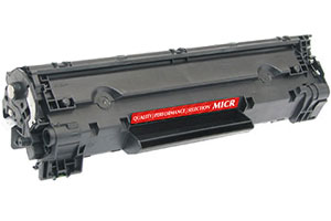 HP CE285A 85A MICR Toner Cartridge for LaserJet Pro P1102w M1212nf Printers
