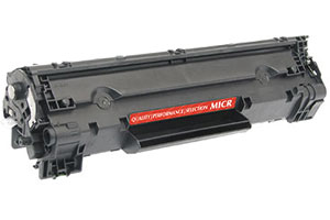 HP CF283A 83A MICR Compatible Toner Cartridge for LaserJet M125nw M225