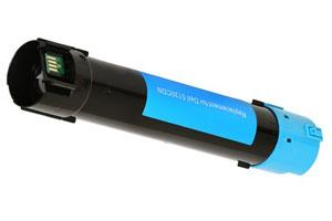 Dell 330-5850 Cyan Compatible Toner Cartridge for Color Laser Printer 5130CDN