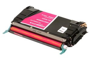Lexmark C734A1MG Magenta Compatible Toner Cartridge for C734 C736 X738