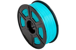 PLA Cyan Filament 1.75mm 1kg Supply Spool for 3D Printer