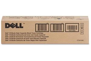 Dell 330-5846 Black [OEM] Genuine High Yield Toner Cartridge 5130CDN