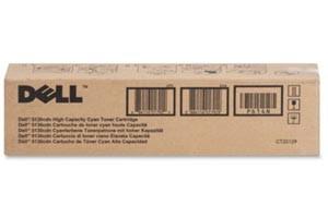 Dell 330-5850 Cyan [OEM] Genuine High Yield Toner Cartridge 5130CDN