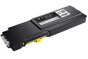 Dell XMHGR Yellow OEM Genuine 9K Yield Toner Cartridge -593-BCBD