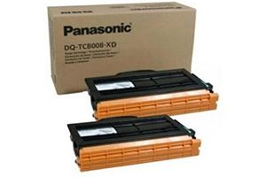 Panasonic DQ-TCB008 [OEM] Genuine Black Toner Cartridge 2 Pack
