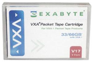 Exabyte 11100103 VXA/VXA-2 Packet V17 60/120GB Data Tape Cartridge