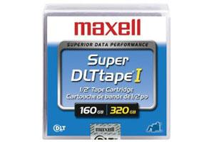 Maxell 183700 Super DLT I (SDLT-I) 110/220GB 160/320GB Data Tape Cartridge