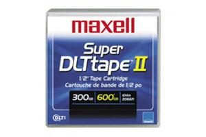 Maxell 183715 Super DLT II (SDLT-II) 300/600GB Data Tape Cartridge