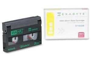 Exabyte 307265 8mm D8 160m 7/14GB Data Tape Cartridge