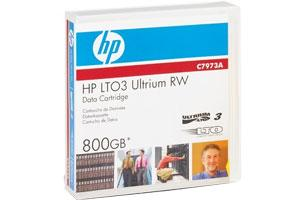 HP C7973A LTO Ultrium-3 400/800GB Data Tape Cardridge