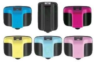 HP #02 Black & 5-Colors Combo Compatible Ink Cartridges w/ CHIP