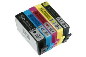 HP 564XL Black 2X & Color High Yield Compatible Ink Cartridges 5-Pack