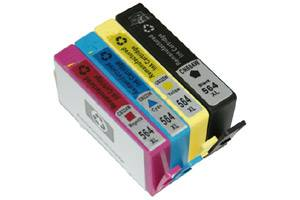 HP 564XL Black 2X & Color Compatible High Yield Ink Cartridge 4-Pack