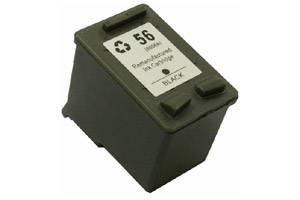 HP C6656AN (#56) Compatible Black Ink Cartridge