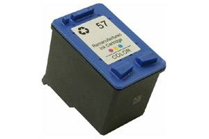 HP C6657AN (#57) Remanufactured Tri-Color Ink Cartridge