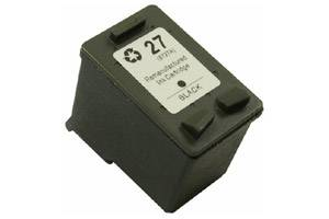 HP C8727AN (#27) Black Remanufactured Ink Cartridge