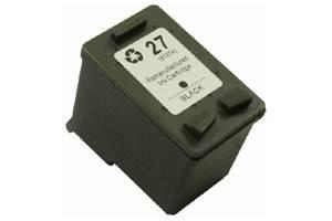 HP C8727AN (#27) Black Remanufactured Ink Cartridge