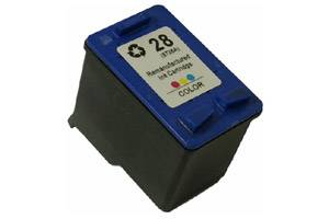 HP C8728AN (#28) Tri-Color Remanufactured Ink Cartridge