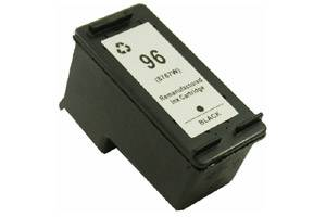 HP C8767WN (#96) Black Remanufactured Ink Cartridge