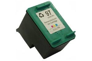 HP C9363WN (#97) Tri-Color Remanufactured Ink Cartridge