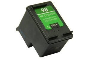 HP C9364WN (#98) Black Remanufactured Ink Cartridge