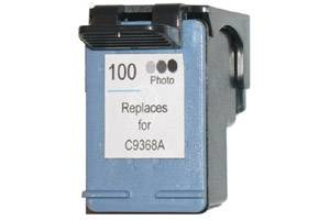 HP C9368AN (#100) Photo Gray Remanufactured Ink Cartridge