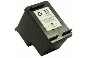 HP CB335WN (#74) Black Remanufactured Ink Cartridge