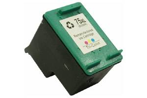 HP CB338WN (#75XL) Tri-Color Remanufactured Ink Cartridge