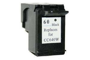 HP CC640WN (#60) Black Remanufactured Ink Cartridge