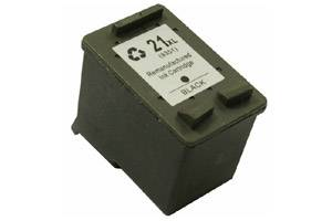 HP CH569AN (#21XL) Hi-Yield Black Remanufactured Ink Cartridge