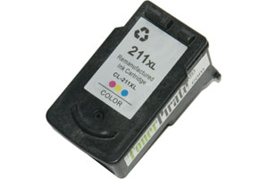Canon CL-211XL High Yield Color Ink Cartridge for MP240 MP490 MX320