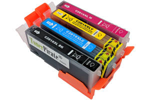 Canon CLI-281XXL Black & Color 4 Pack Compatible Ink Cartridge