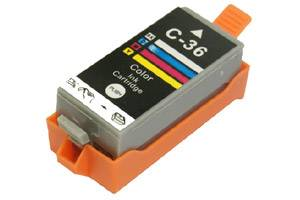 Canon CLI-36 Color Compatible Ink Cartridge w/ CHIP