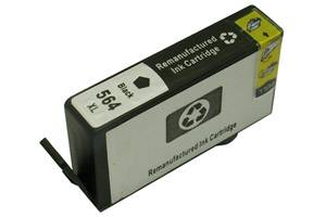 HP CN684WN (#564XL 2X) Black Compatible Hi-Yield Ink Cartridge