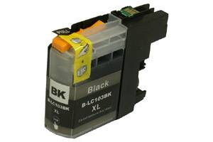 Brother LC103BK Black Compatible Ink Cartridge for MFC-J285 J450 J870