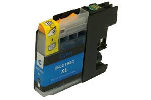 Brother LC103C Cyan Compatible Ink Cartridge for MFC-J285 J450 J870