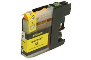 Brother LC103Y Yellow Compatible Ink Cartridge for MFC-J285 J450 J870