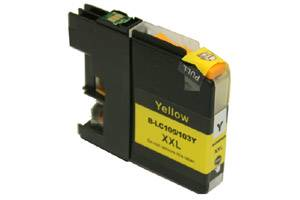 Brother LC105Y Yellow Compatible Ink Cartridge for MFC-J4310 J4410