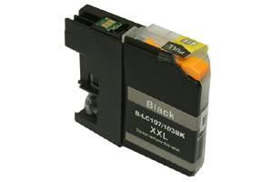 Brother LC107BK Black Compatible Ink Cartridge for MFC-J4310DW J4410DW