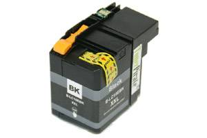 Brother LC10EBK Black Compatible Super High Yield Ink Cartridge