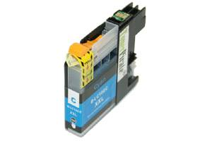 Brother LC10EC Cyan Compatible Super High Yield Ink Cartridge