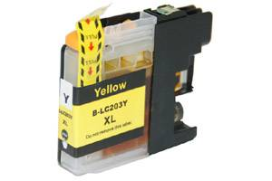 Brother LC203Y Yellow Compatible Ink Cartridge for MFC-J4320DW J4420DW