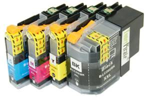 Brother LC20E Black & Color Compatible Ink Cartridge Set MFC-J5920DW