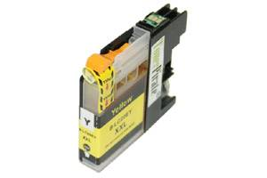 Brother LC20EY Yellow Compatible Super High Yield Ink Cartridge
