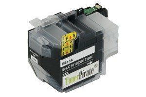 Brother LC3019BK Black Compatible Super High Yield Ink Cartridge