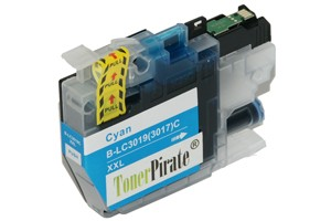 Brother LC3019C Cyan Compatible Super High Yield Ink Cartridge