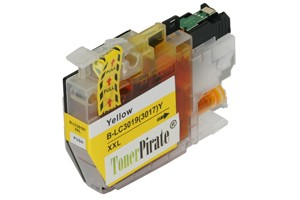 Brother LC3019Y Yellow Compatible Super High Yield Ink Cartridge